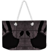 Black Hands Pink Weekender Tote Bag