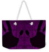 Black Hands Purple Weekender Tote Bag