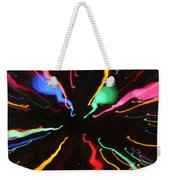 Black Hole Abstract Weekender Tote Bag