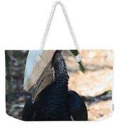 Black Hornbill Weekender Tote Bag