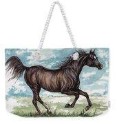 Black Horse Running Weekender Tote Bag