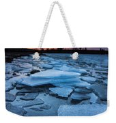 Black Ice Weekender Tote Bag