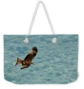 Black Kite Weekender Tote Bag