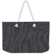 Black Linen Texture Weekender Tote Bag