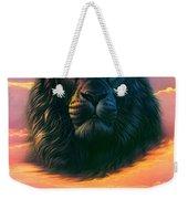 Black Lion Weekender Tote Bag