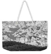 Black Mountains Of Arizona Weekender Tote Bag