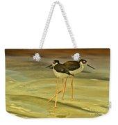 Black-neck Stilt Weekender Tote Bag