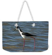 Black Necked Stilt Weekender Tote Bag