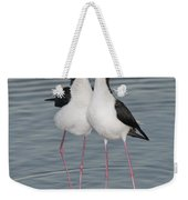 Black-necked Stilts Weekender Tote Bag