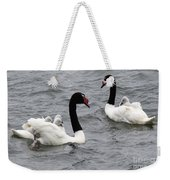 Black Necked Swans Patagonia 1 Weekender Tote Bag