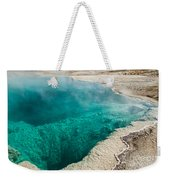 Black Pool In West Thumb Geyser Basin Weekender Tote Bag