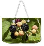 Black Raspberries Weekender Tote Bag
