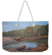 Black River Falls Weekender Tote Bag