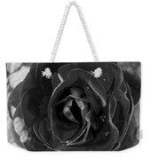Black Rose Weekender Tote Bag