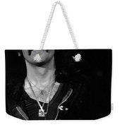 Black Sabbath #46 Enhanced Bw Weekender Tote Bag