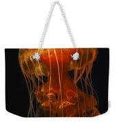 Black Sea Nettle Weekender Tote Bag