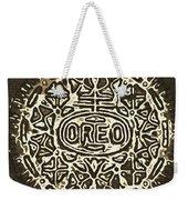 Black Sepia Oreo Weekender Tote Bag
