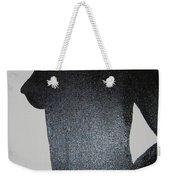 Black Silhouette Weekender Tote Bag