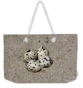 Black Skimmer Eggs Weekender Tote Bag