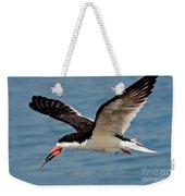 Black Skimmer In Flight Weekender Tote Bag