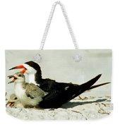 Black Skimmers Weekender Tote Bag