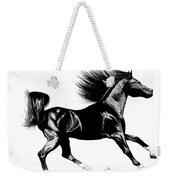 Black Speed Weekender Tote Bag