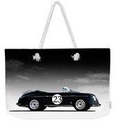Black Speedster Weekender Tote Bag