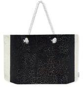 Black Square Weekender Tote Bag