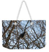 Black  Starling Weekender Tote Bag