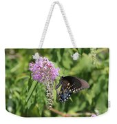 Black Swallowtail Weekender Tote Bag