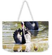 Black Swan 1 Weekender Tote Bag