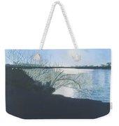 Black Swan Lake Weekender Tote Bag