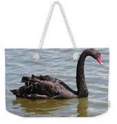 Black Swan Square Weekender Tote Bag