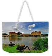 Black Swans At Leeds Castle II Weekender Tote Bag