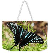 Black Swordtail Butterfly Weekender Tote Bag