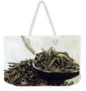 Black Tea Leaves Weekender Tote Bag