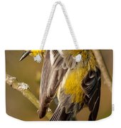 Black-throated Green Warbler Weekender Tote Bag