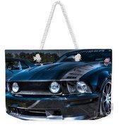Black Truefiber Mustang Weekender Tote Bag
