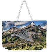 Black Tusk Over Alpine Meadows Weekender Tote Bag