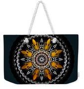 Black Velvet Weekender Tote Bag