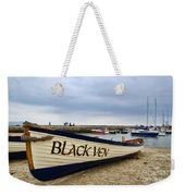 Black Ven Weekender Tote Bag