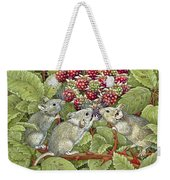 Blackberrying Weekender Tote Bag