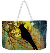 Blackbird Weekender Tote Bag