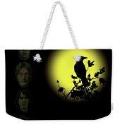 Blackbird Singing In The Dead Of Night Weekender Tote Bag