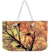 Blackbirds In A Tree Weekender Tote Bag