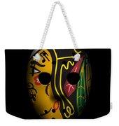 Blackhawks Goalie Mask Weekender Tote Bag