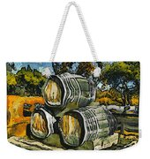 Blackjack Winery Wine Barrels Weekender Tote Bag