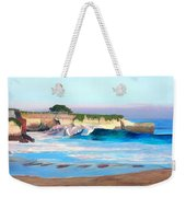 Blacks Beach - Santa Cruz Weekender Tote Bag