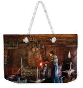 Blacksmith - Cooking With The Smith's  Weekender Tote Bag by Mike Savad