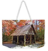 Blacksmith Shop In The Fall Weekender Tote Bag